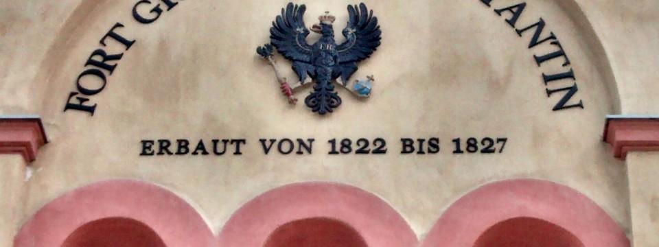 Fort Großfürst Constantin Koblenz mit Reichsadler