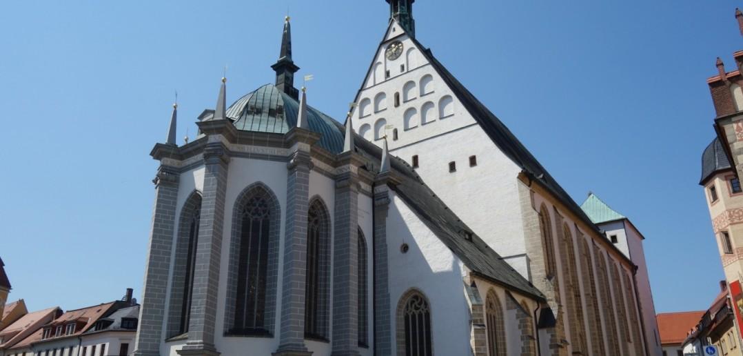Der Freiberger Dom ist eine Hallenkirche aus der Zeit der Spätgotik, die Ende des 15. Jahrhunderts entstand. (#6)