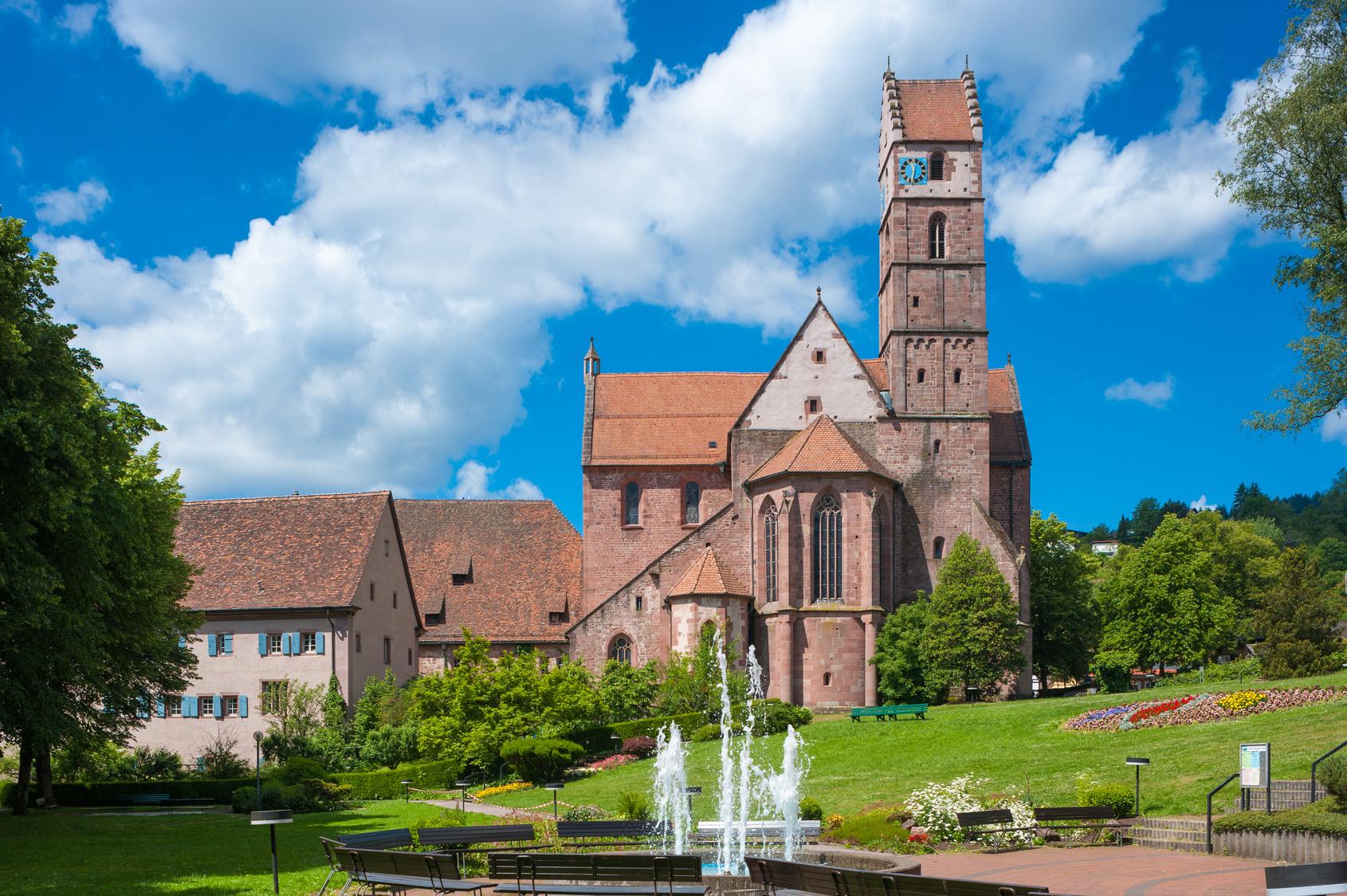 Die Klosterkirche in Alpirsbach: Nicht nur für Kulturliebhaber sehenswert. (#03)