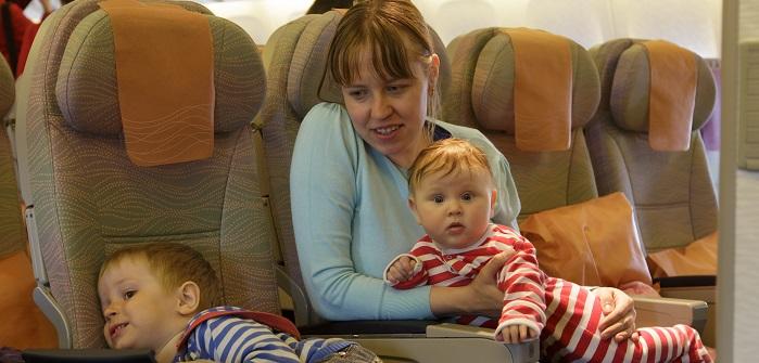 Die Mama sieht total entspannt aus