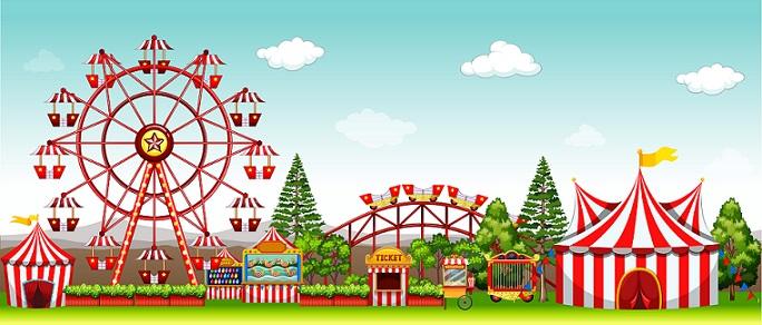 Nicht ganz soo modern aber für kleinere Gäste die auch in einen Freizeitpark möchten, die haben hier auch großen Spass