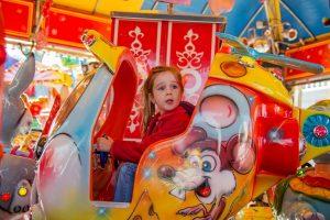 Ein Karusell fehlt in keinem Erlebnisspark in Deutschland