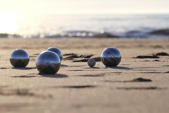Noch ein entspanntes Freizeitunternehmen am Strand