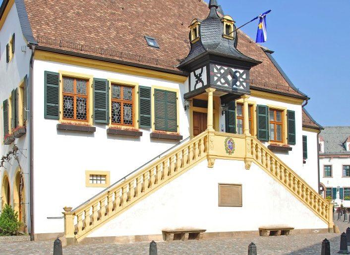 Deidesheim: Bild vom alten Rathaus. (#9)