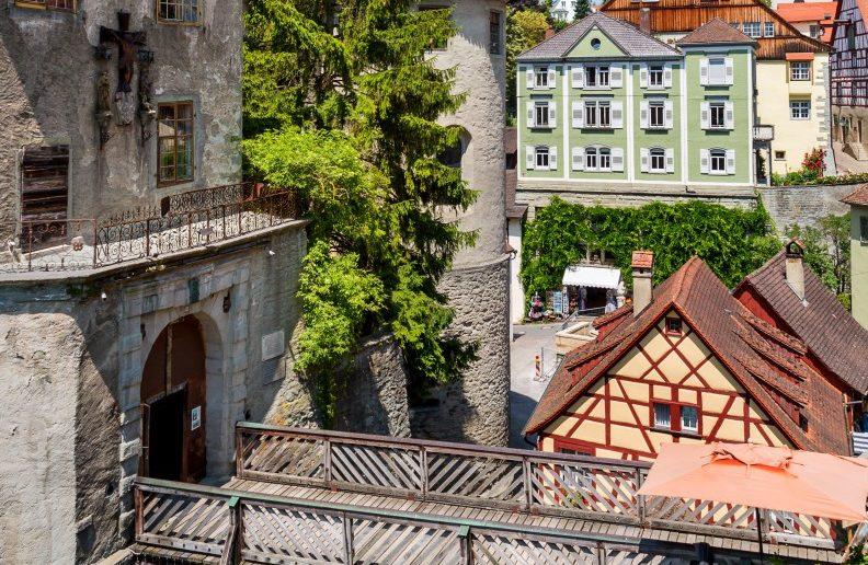 Meersburg: Bilder von der Stadt der bischöflichen Residenz. (#10)
