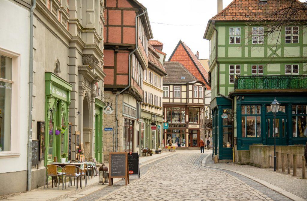 Quedlinburg: Bilder der Altstadt verlocken zu einem Bummel durch die Gassen, durch die einst schon Friedrich Gottlieb Klopstock schlenderte. (#4)