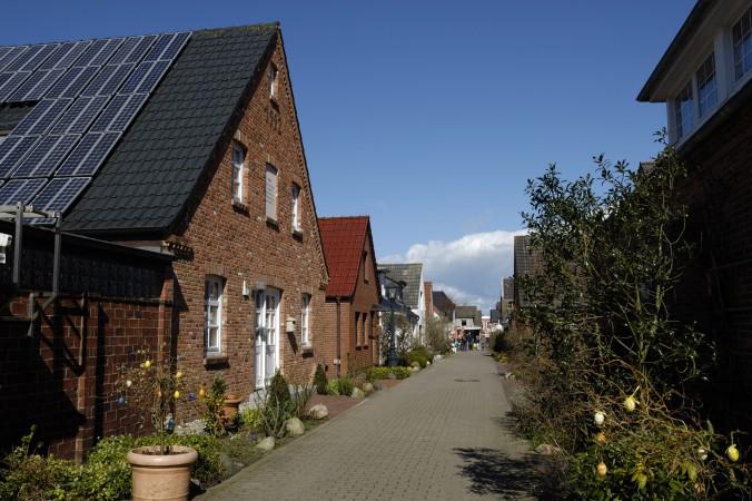 Die einzige Stadt auf Föhr ist Wyk, hinzu kommen noch ein paar Dörfer, eine schöne und vor allem ruhige Insel! (#1)