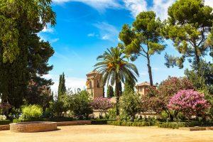 Alhambra, eine majestätischen Anlage aus dem Mittelalter. (#06)