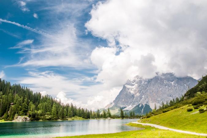 Wer Ausdauer hat kann bis zum Seebensee wandern. Ein idyllischer und traumhafter Gebirgssee auf 1.675m Höhe. (#1)
