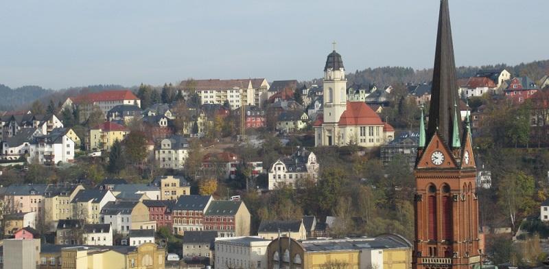 Der Wanderweg zum Gleesberg dauert knapp 3:30 Stunden und beginnt unten am Heidelberg in Aue. (#01)