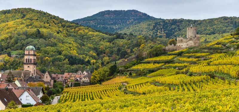Das Elsass ist als besonders romantische Region mitten in Europa bekannt. (#02)