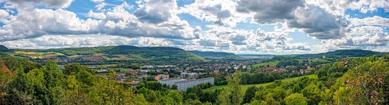 Jena ist eine kleine Stadt mit gerade einmal 100.000 Einwohnern.