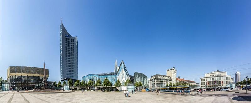 Leipzig zählt rund 600.000 Einwohner und wirtschaftlich gesehen geht es der Stadt sehr gut.