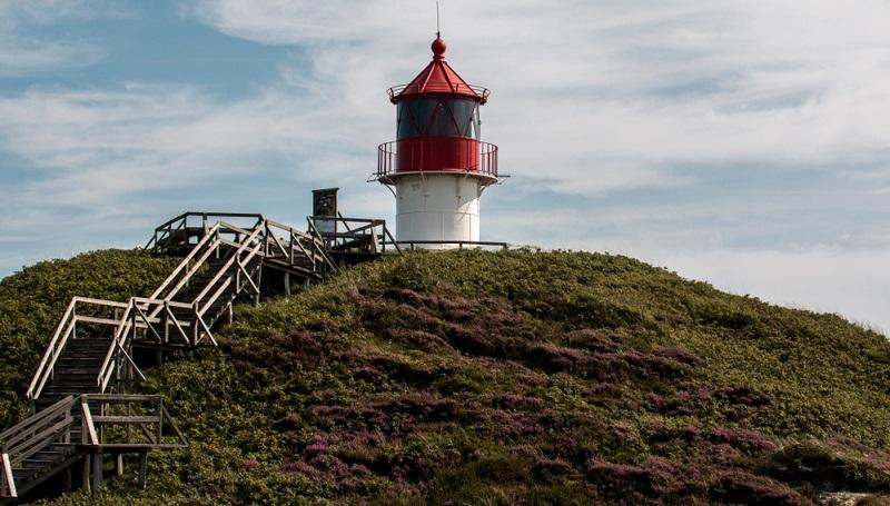 Mit nur 20 Quadratkilometern ist Amrum eine kleine Nordfriesische Insel. Das Wattenmeer begrenzt die Insel im Osten.