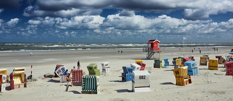 Zu den beliebten Reisezielen in Deutschland zählen auch die Nordseeinseln.