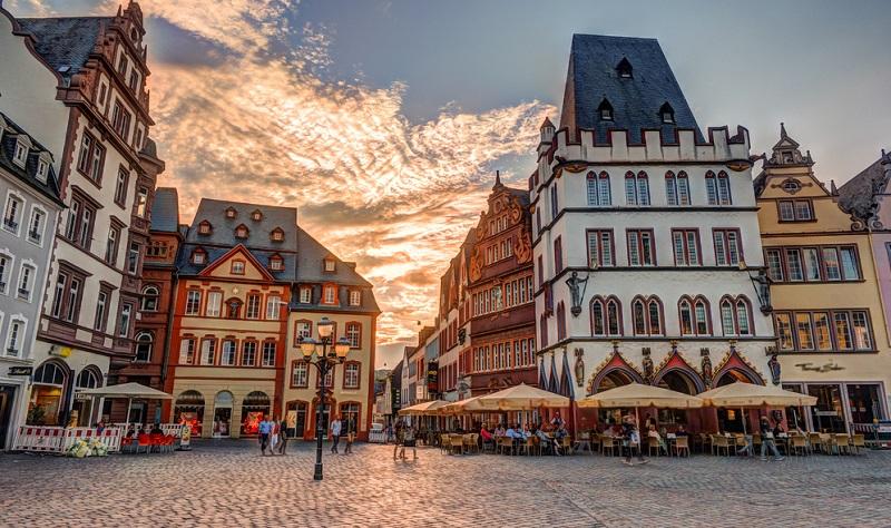 Trier mit seiner historischen Altstadt