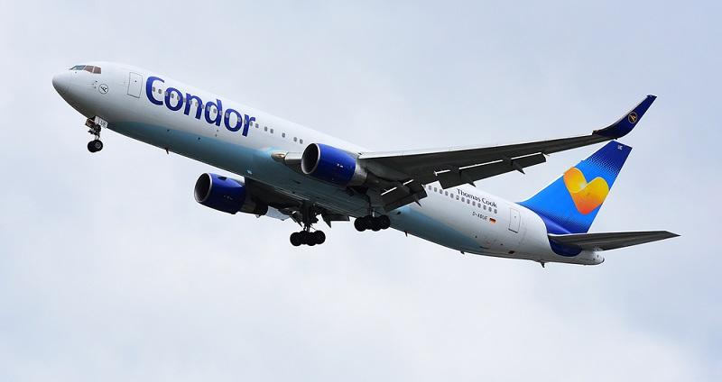 Die Fluggesellschaft Condor gehört zum Touristikkonzern Thomas Cook und hat ihren Sitz in Frankfurt am Main.