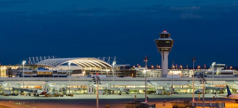 Der Münchener Flughafen ist mit mehr als 46 Millionen Fluggästen pro Jahr der zweitgrößte Verkehrsflughafen Deutschlands.