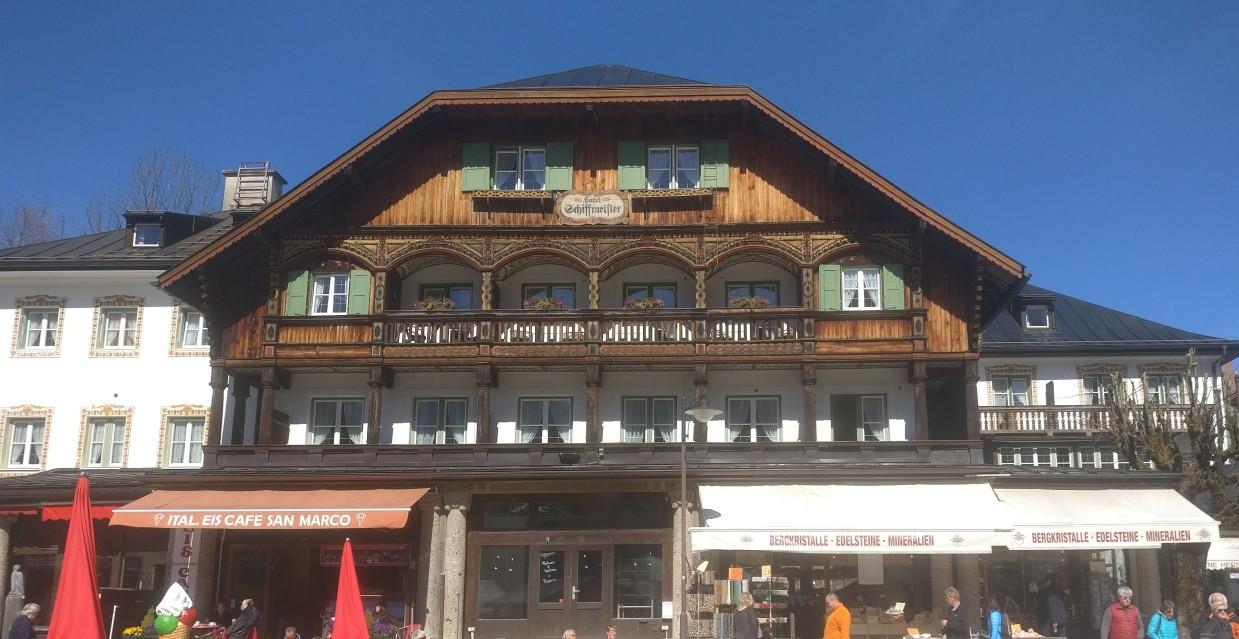 Das Hotel Schiffmeister: nächstgelegene Hotel-Adresse am Königssee.