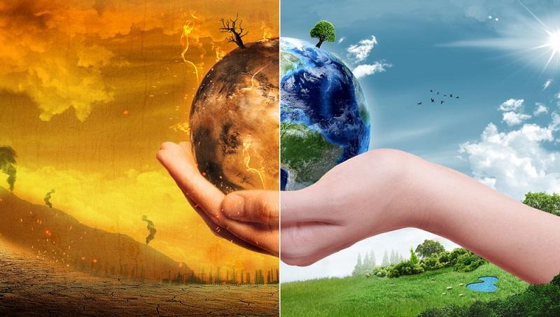 Beim Fliegen werden die Treibhausgase jedoch bereits in großer Höhe abgesetzt. Das führt dazu, dass sie sofort zur Erderwärmung beitragen.