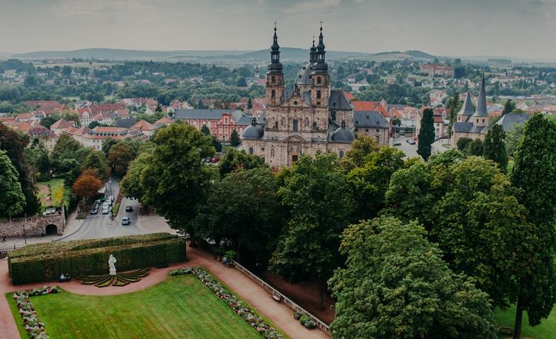Die Errichtung des Doms von Fulda brauchte nur acht Jahre, eine völlig untypisch kurze Zeit für einen solchen Bau. (#04)