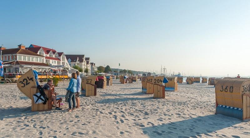 Die Kieler Förde ist nicht nur für ihre Schiffe bekannt, sondern auch für das beliebte Ostseebad Laboe.