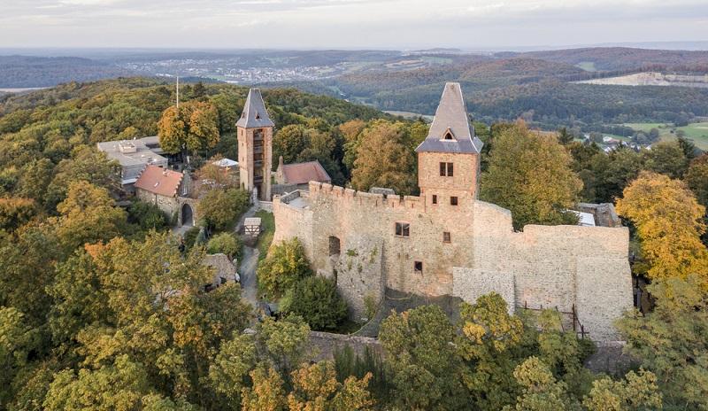 Hessen haut auch einiges an Burgen und Schlössern zu bieten Burg Frankenstein