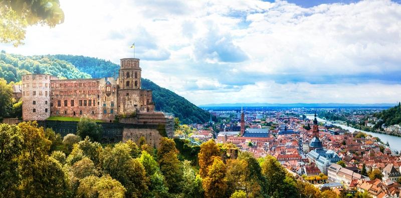 Baden-Württemberg mit seinem wundervollen Heidelberger Schloss
