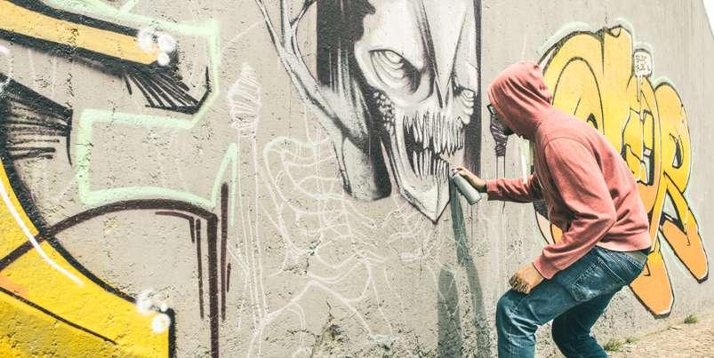 Inzwischen gilt Berlin als das Mekka der Straßenkunst und das nicht nur in Deutschland, sondern innerhalb von ganz Europa. ( Foto: Shutterstock- View Apart )